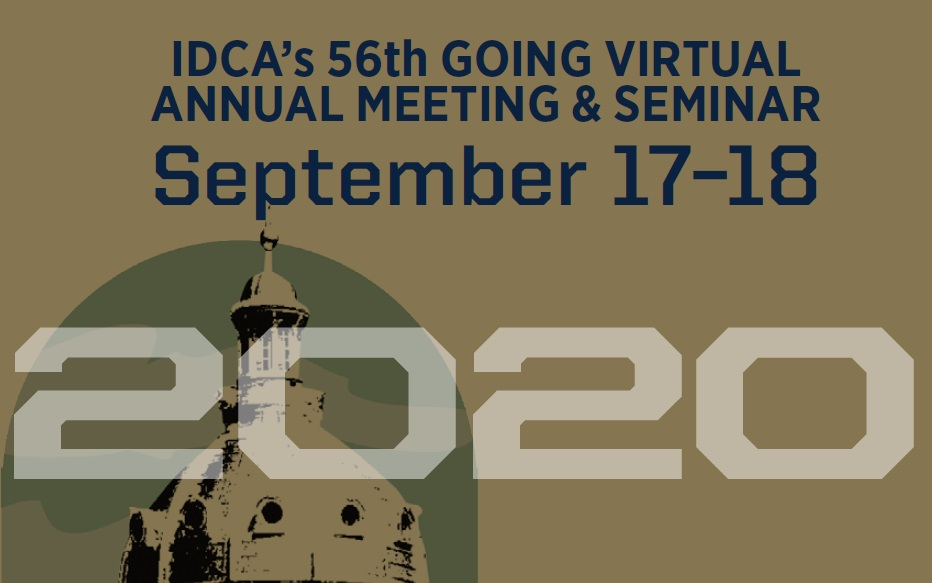 IDCA's 56th Going Virtual Annual Meeting & Seminar